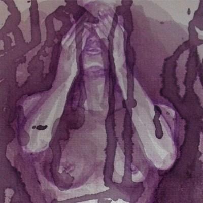 wine painting Nyx Martinez