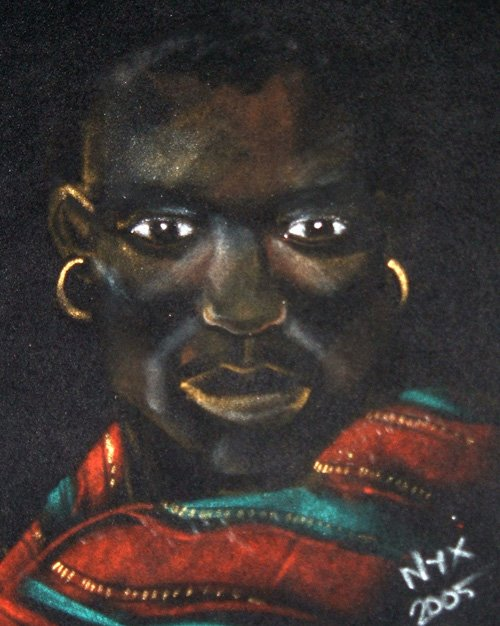 African Art portraits