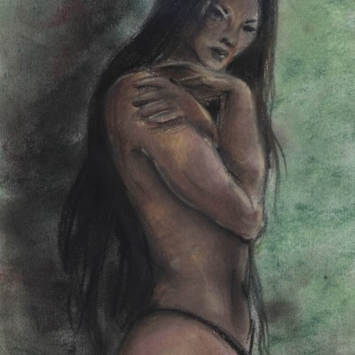 Nude in Shadows by Nyx Martinez