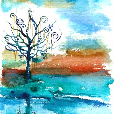 watercolor art by Nyx Martinez