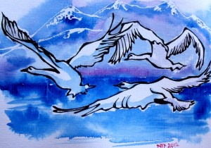 Lake Como Art Nyx Martinez
