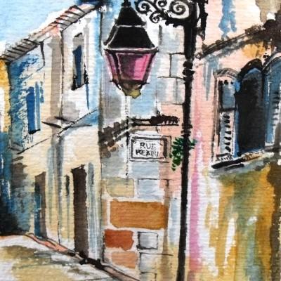 France painting Nyx Martinez