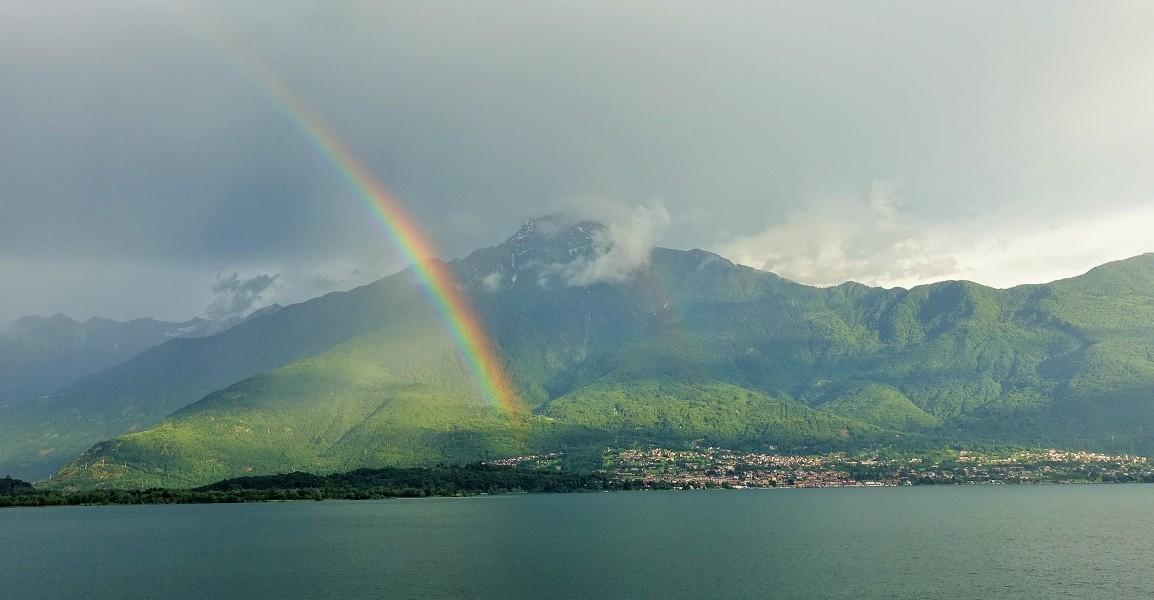Lake Como Rainbow