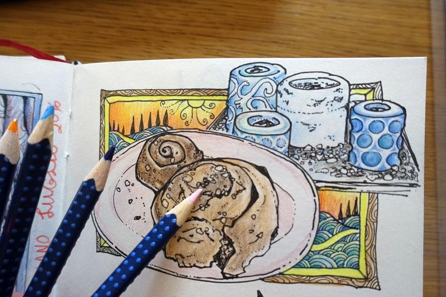 Art journal Nyx Martinez