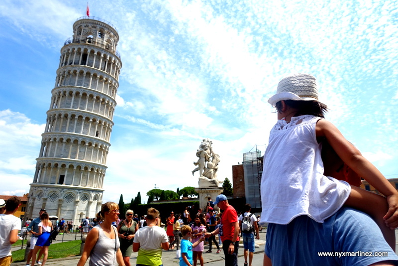 In Pisa: Embracing Our Inner Tourist