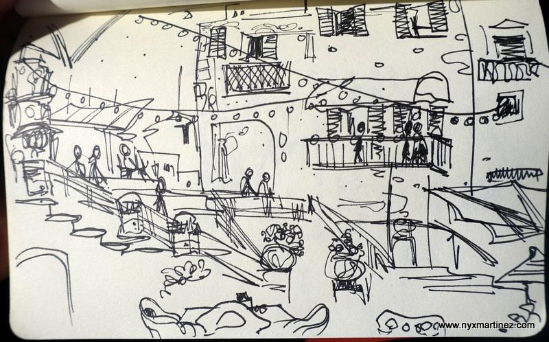 sketchbook journeys nyx martinez ostuni