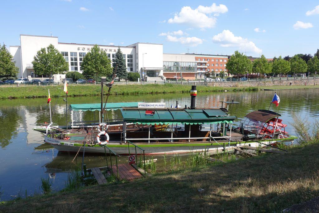 Steamboat in Czech Republic