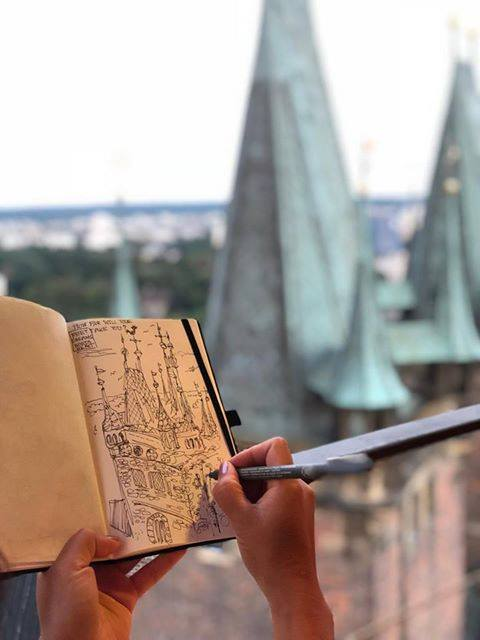 Sketchbook Journeys & Nostalgia in the Czech Republic