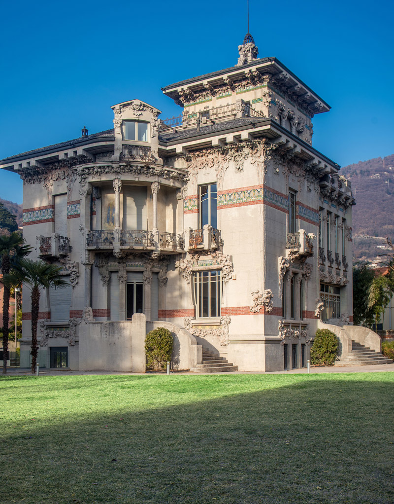 Villa Bernasconi in Cernobbio, Lake Como