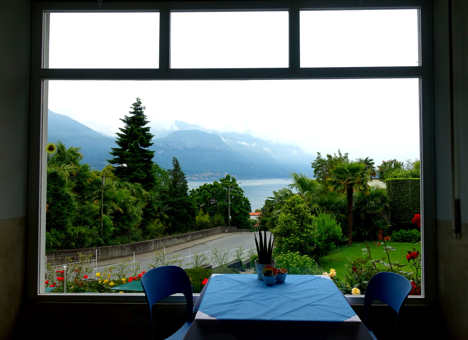 Enjoy breakfast with a view at Hotel Loveno in Menaggio, Lago di Como.
